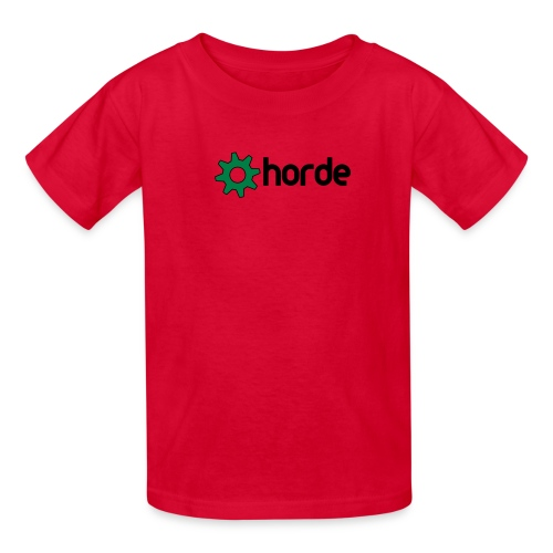 horde with logo - Kids' T-Shirt