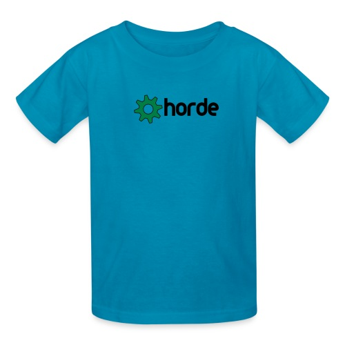horde with logo - Kids' T-Shirt