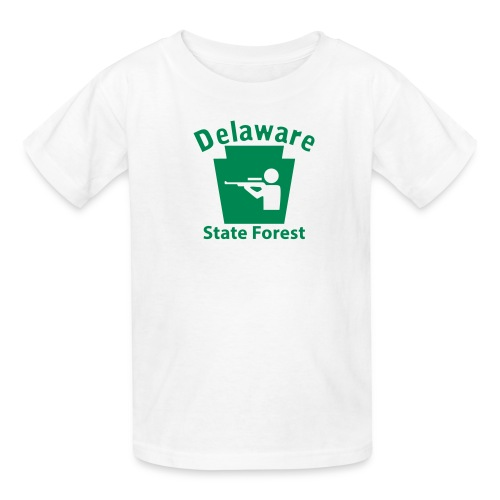 Delaware State Forest Hunting Keystone PA - Kids' T-Shirt