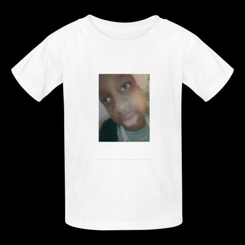 White Instant Photo - Kids' T-Shirt