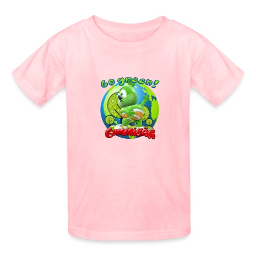 Gummibär Go Green Earth Day Earth - Kids' T-Shirt