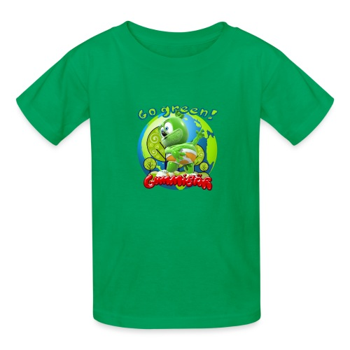 Gummibär Go Green Earth Day Earth - Kids' T-Shirt