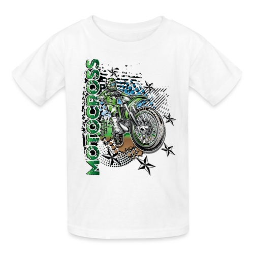 Kawasaki Dirt Bike Shirt - Kids' T-Shirt