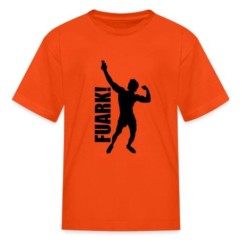 Zyzz Silhouette FUARK - Kids' T-Shirt