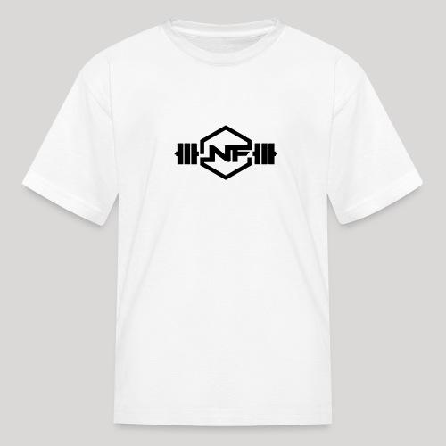 Natural Fitness Gym Logo - Kids' T-Shirt
