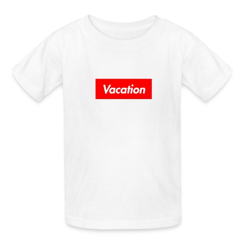 TheVacation (Supreme logo) - Kids' T-Shirt