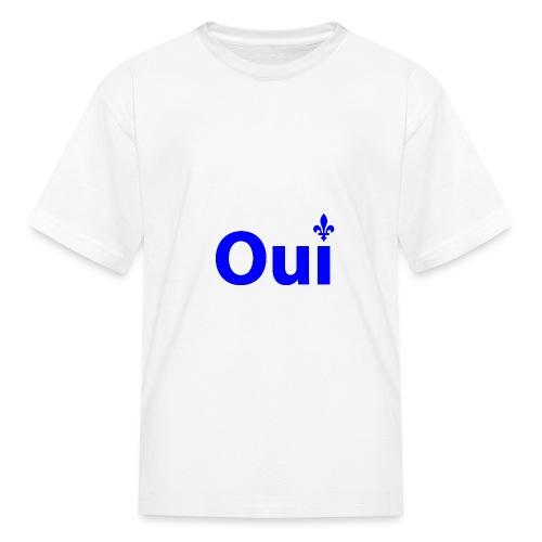 OUI Québec - T-shirt classique pour enfants