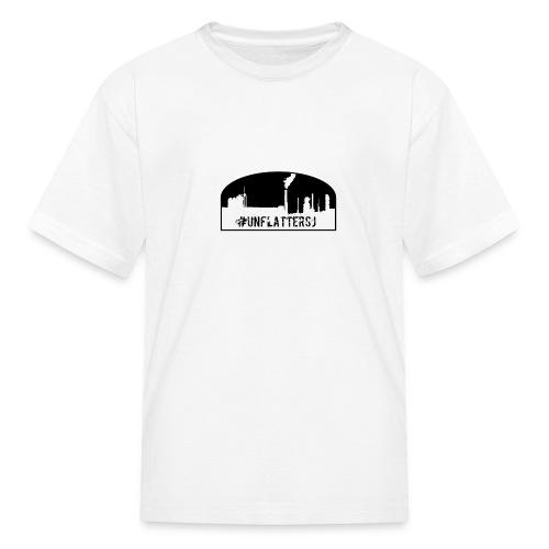 Unflatter Hashtag logo - Kids' T-Shirt