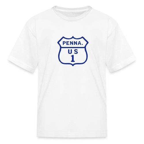 PA US Highway 1 - Kids' T-Shirt