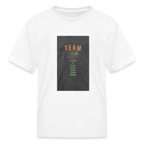 Team 10JR official - Kids' T-Shirt