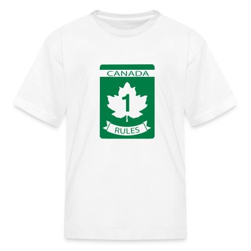 Canada Rules - Kids' T-Shirt