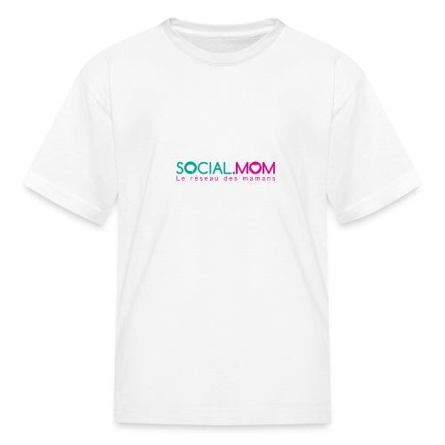 Social.mom logo français - Kids' T-Shirt
