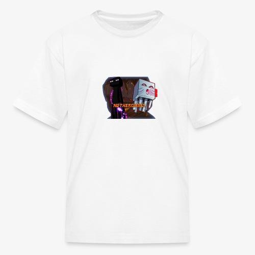 NetherGhast Mascot - Kids' T-Shirt