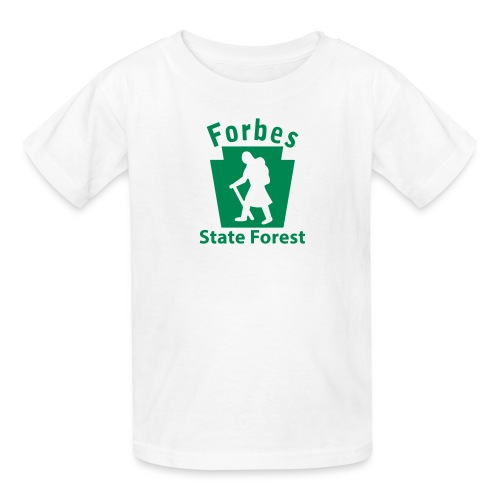 Forbes State Forest Keystone Hiker female - Kids' T-Shirt