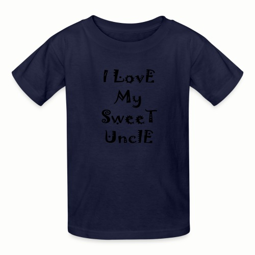 I love my sweet uncle - Kids' T-Shirt