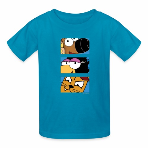 Rantdog Trio - Kids' T-Shirt