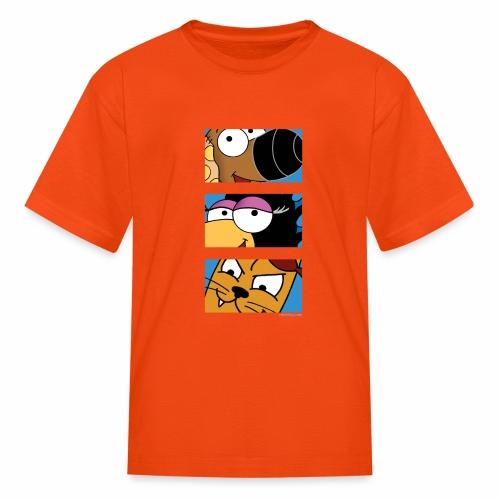 Rantdog Trio - Kids' T-Shirt