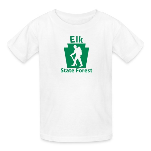 Elk State Forest Keystone Hiker male - Kids' T-Shirt