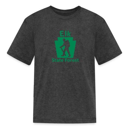 Elk State Forest Keystone Hiker male - Kids' T-Shirt