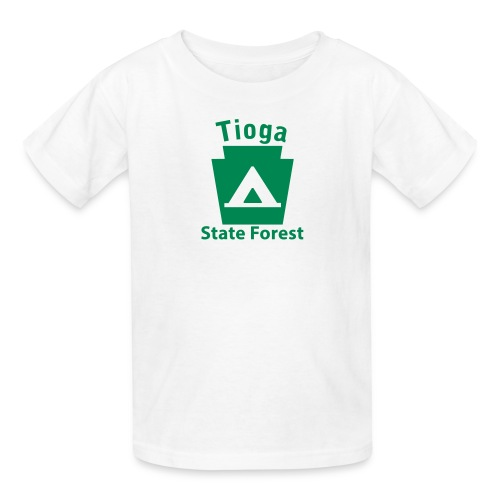 Tioga State Forest Camping Keystone PA - Kids' T-Shirt