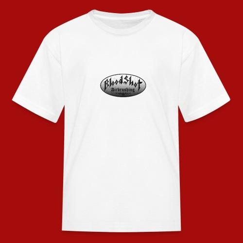 BloodShot Logo Black/White - Kids' T-Shirt