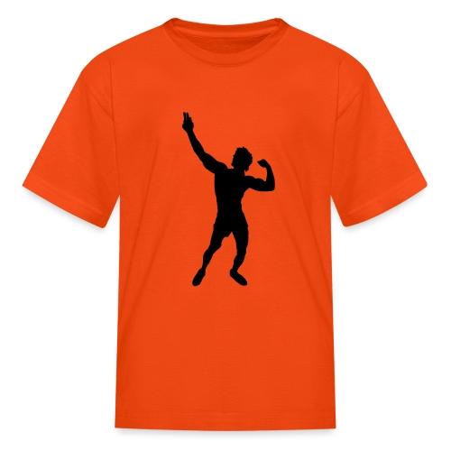 Zyzz Silhouette vector - Kids' T-Shirt