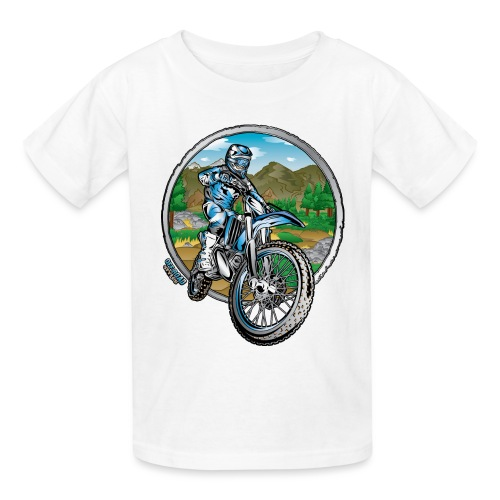 Supercross Motocross Shirt - Kids' T-Shirt
