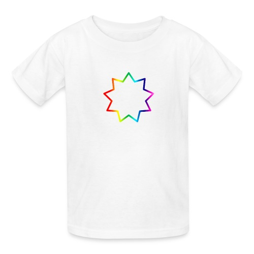 Baha´i rainbow - Kids' T-Shirt