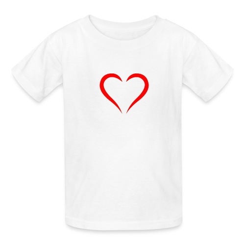 open heart - Kids' T-Shirt