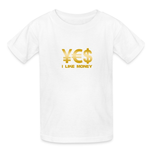 i like money - Kids' T-Shirt