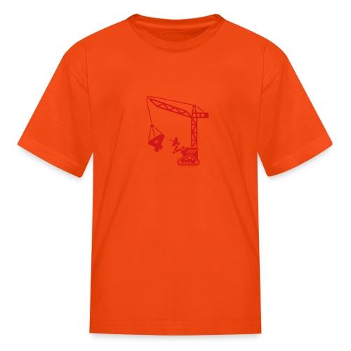 robot 3d - Kids' T-Shirt