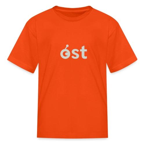 ost logo in grey - Kids' T-Shirt