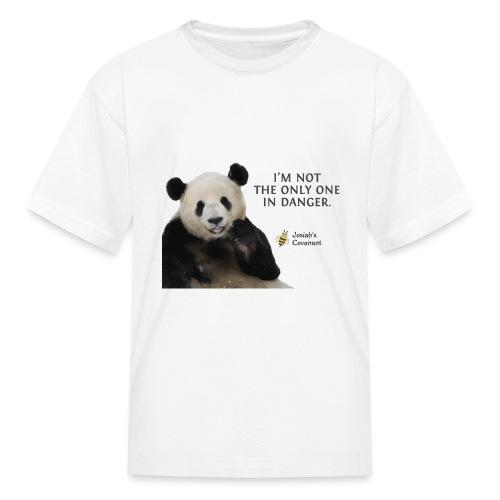 Endangered Pandas - Josiah's Covenant - Kids' T-Shirt