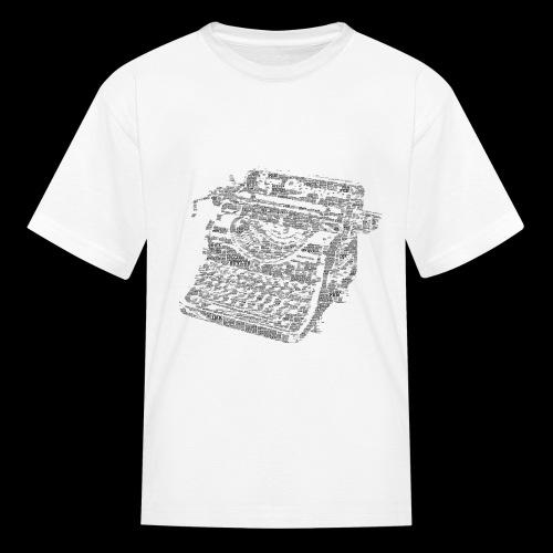 Typewritten Logophile - Kids' T-Shirt