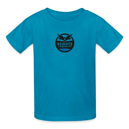 scoutsforequality bluelogo - Kids' T-Shirt