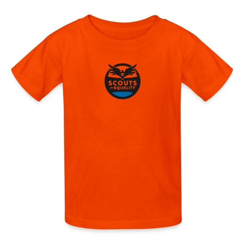 scoutsforequality bluelogo - Kids' T-Shirt