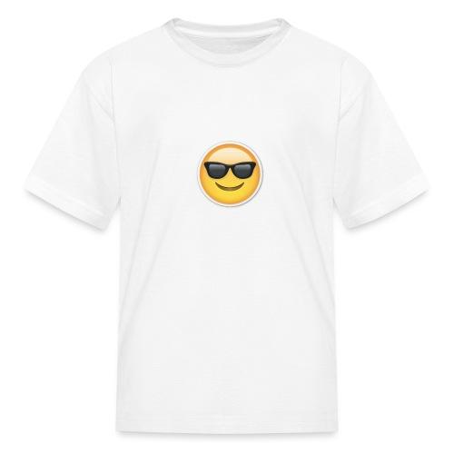 sunglasses emojicon mug & phone case - Kids' T-Shirt
