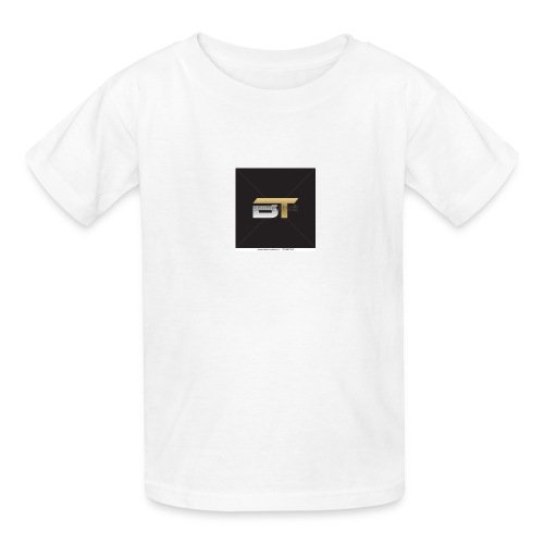 BT logo golden - Kids' T-Shirt