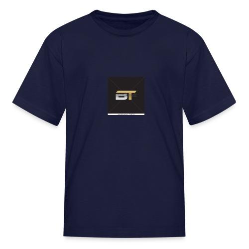 BT logo golden - Kids' T-Shirt