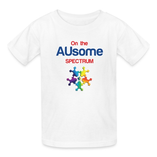 On the AUsome Spectrum - Kids' T-Shirt