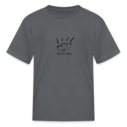 herisson mignon med - Kids' T-Shirt