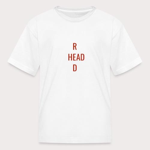 T Red Head - Kids' T-Shirt