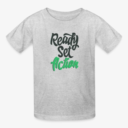 Ready.Set.Action! - Kids' T-Shirt