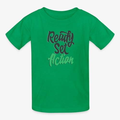Ready.Set.Action! - Kids' T-Shirt