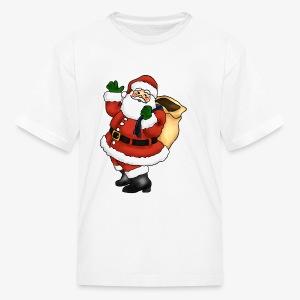 santa - Kids' T-Shirt