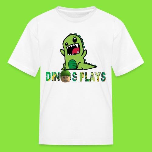 dinos plays - Kids' T-Shirt