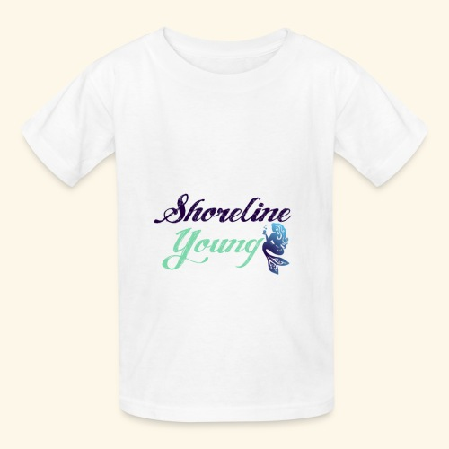 bluegreenshoreline - Kids' T-Shirt