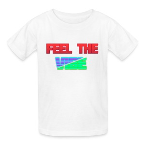 Feel The Vibe - Kids' T-Shirt