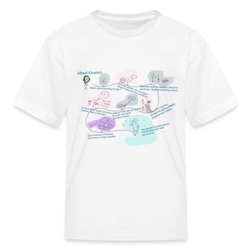 Awesome Einstein - Kids' T-Shirt