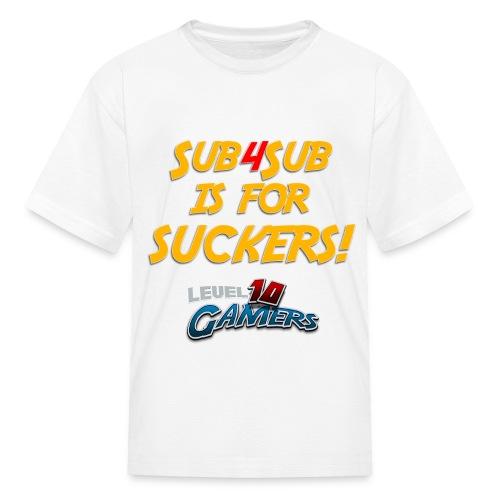 Anti Sub4Sub - Kids' T-Shirt